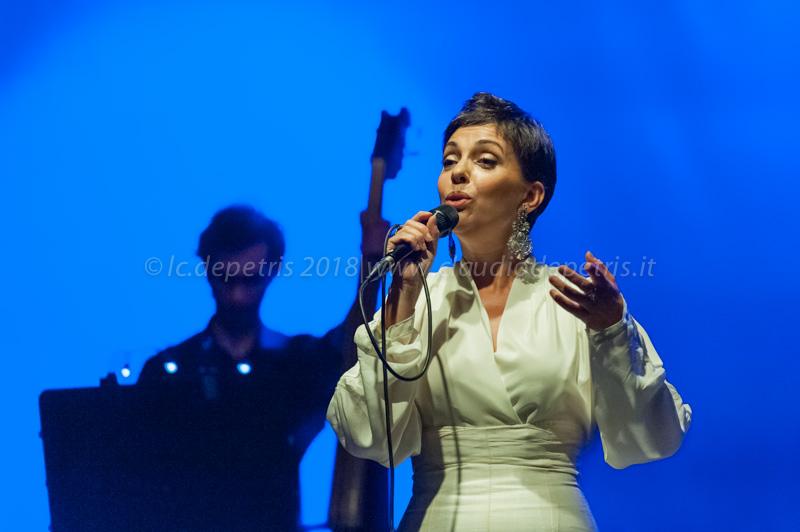 Casa del Jazz 28/7/2018 Teresa Salgueiro in concerto