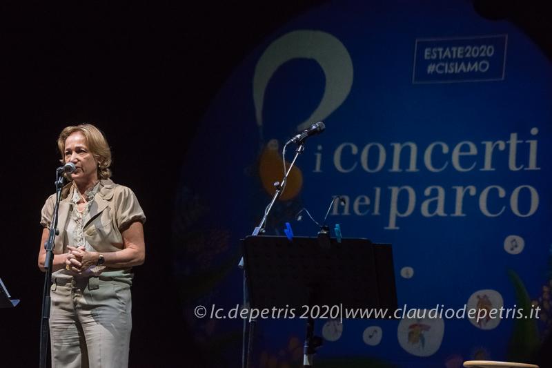 """Teresa Azzaro Direttrice Artistica de """"I concerti nel Parco"""""""