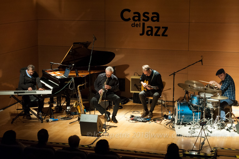 Alvin Curran (S), Urs Leimgruber, Andreas Willers e Fabrizio Spera