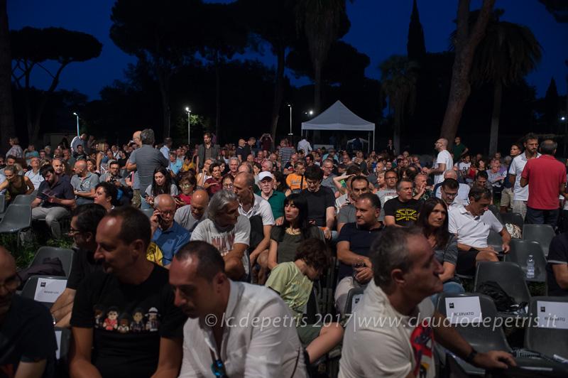 Peter Erskine in concerto alla Casa del Jazz in Roma, 1/8/2017
