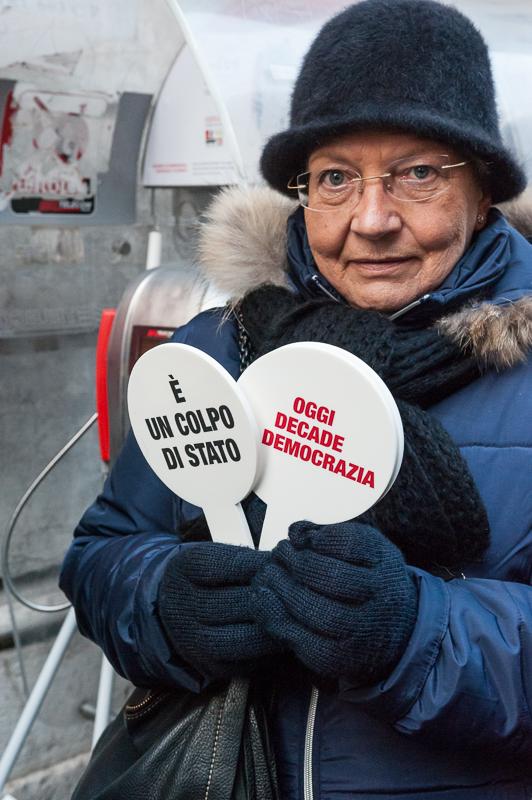 manifestazione forza italia 27/11/2013