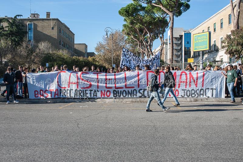 Sciopero sociale Roma 14/11/2014
