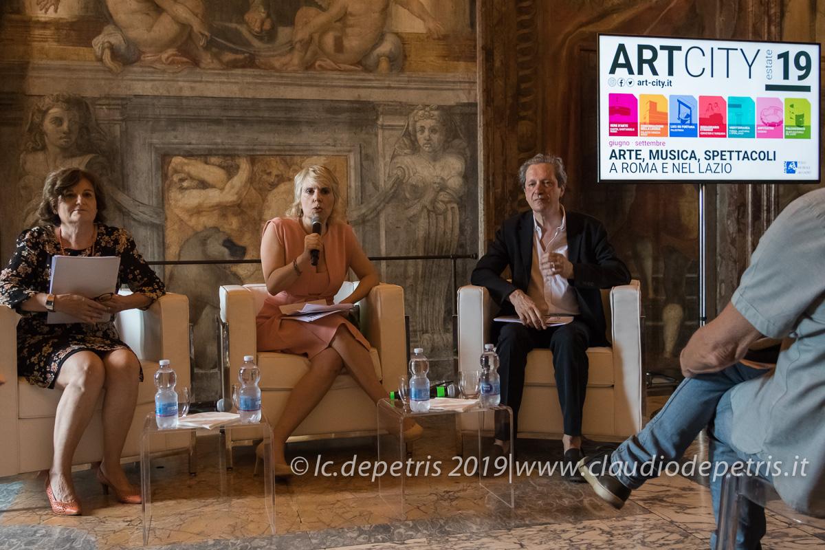 Marina Cogotti (S), Edith Gabrielli, Ernesto Assante