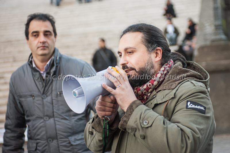 manifestazione lavoratori farmacap 10/2/2015