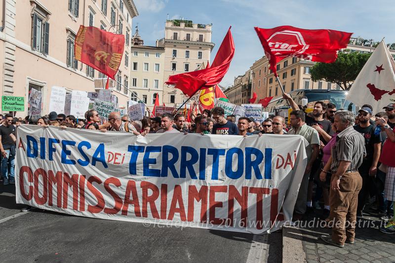 Bagnoli arriva a Roma, 23/9/2016