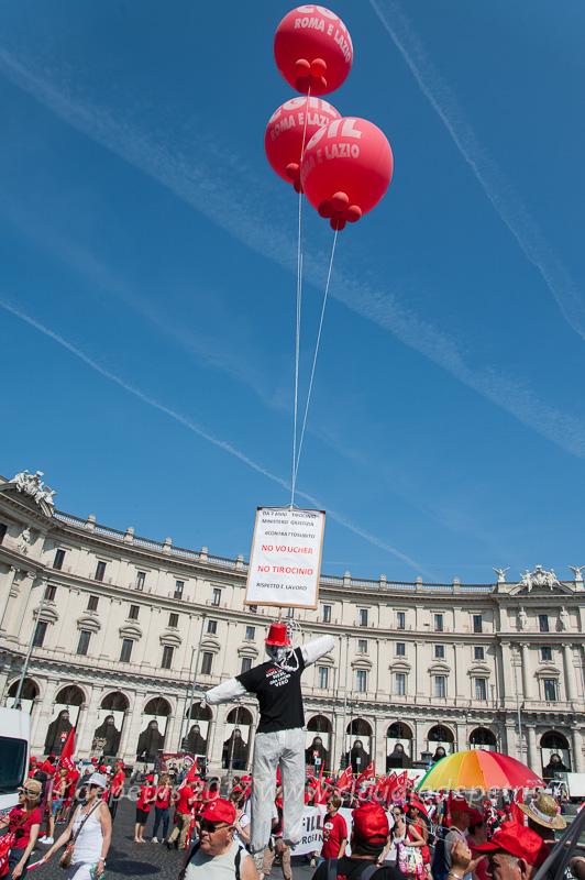 Roma: Manifestazione nazionale CGIL 17/6/2017