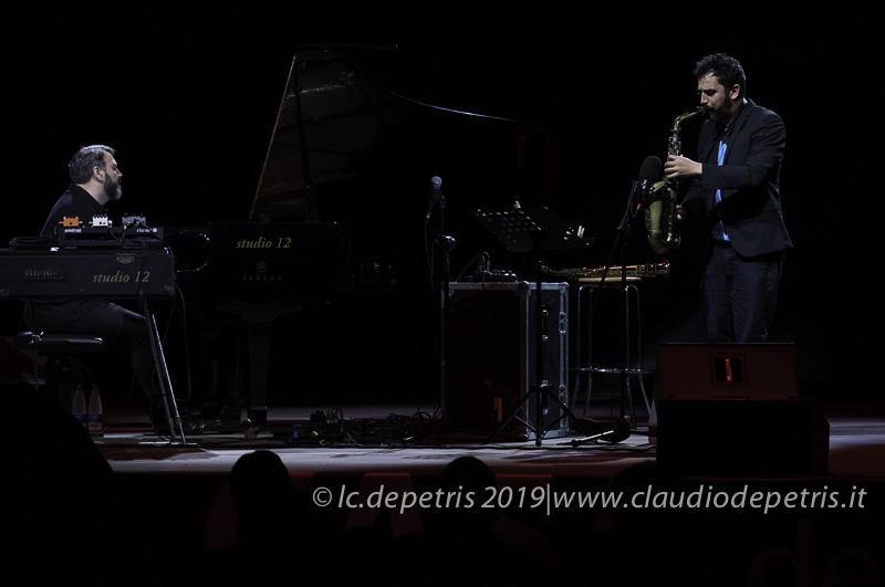Eric Legnini al piano e Raffaele Casarano al sax