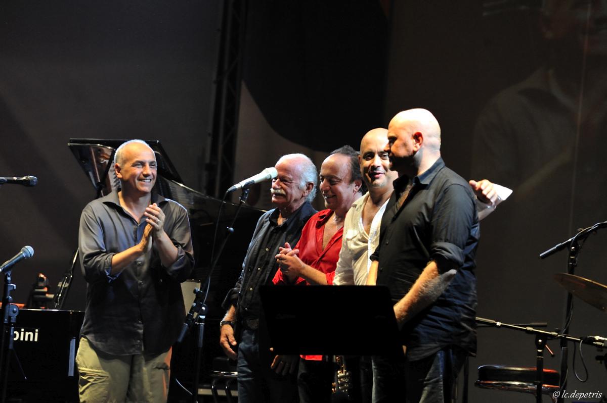 g. paoli, f. boltro, r. bonaccorso, r. gatto, d.rea - villa carpegna - manif. odio l'estate 2010