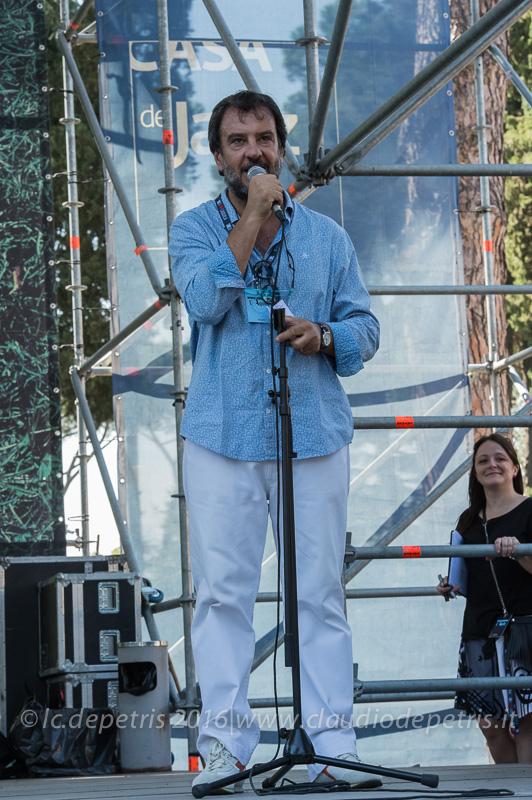 Enrico Linzi coordinatore Casa del Jazz