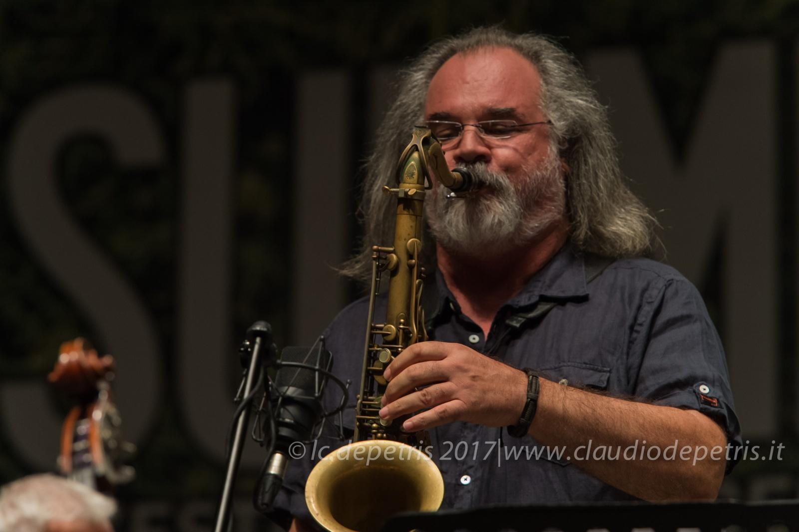 Pasquale Innarella 4tet in concerto alla Casa del Jazz, 26/7/2017
