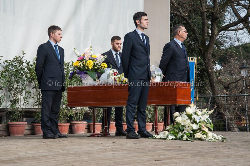 Funerali Ettore Scola, Casa del Cinema Roma 22/1/2016