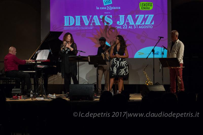 Paolo Tombolesi (S), Lucia Inanello, Riccardo Di Fiandra, Vanda Rapisardi, Andrea Polinelli (D)