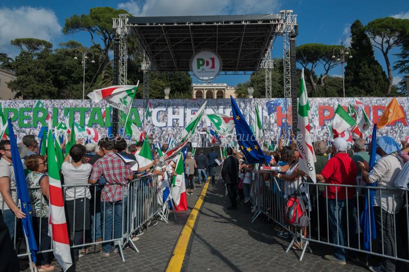 Manifestazione del Partito Democratico 30/9/2018