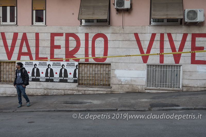 Roma 22/2/2019: 'Valerio Verbano vive'