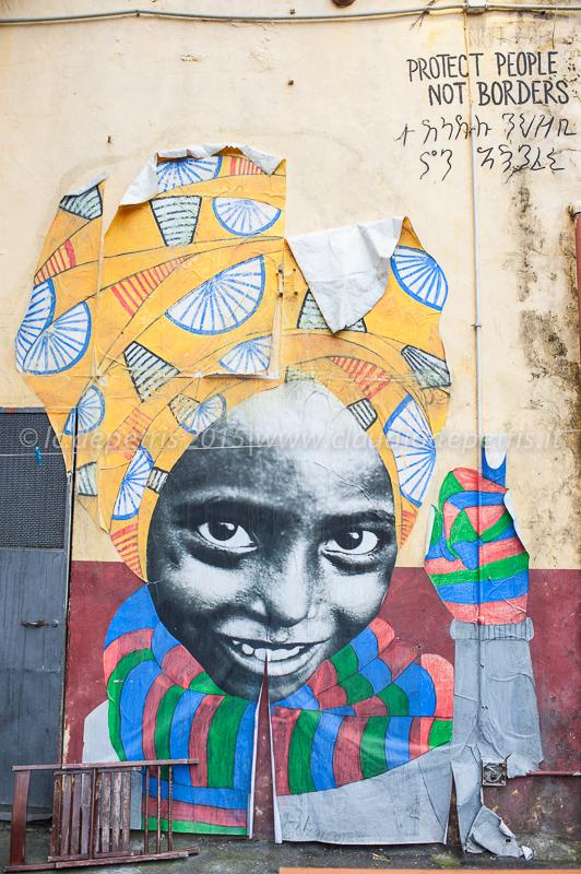 Chiuso il centro per migranti Baobab a Roma 6/12/2015