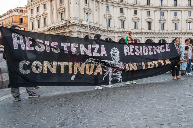 Manifestazione del movimento per l'abitare 18/6/2015