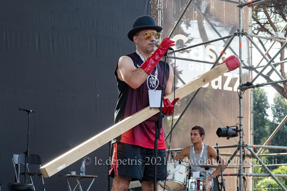 Filippo Timi al sound check