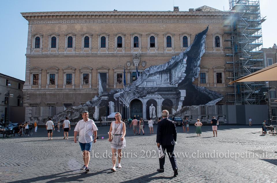 Roma 23/7/2021 Palazo Farnese
