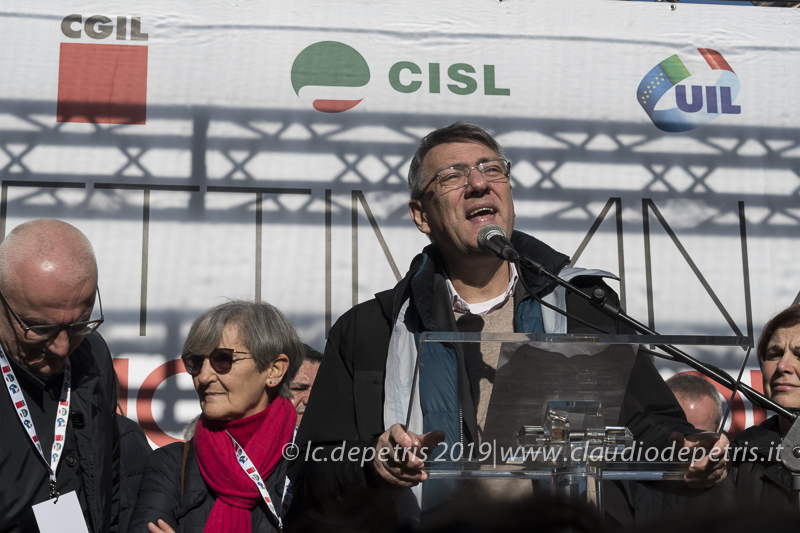 Maurizio Landini Segretario Generale CGIL