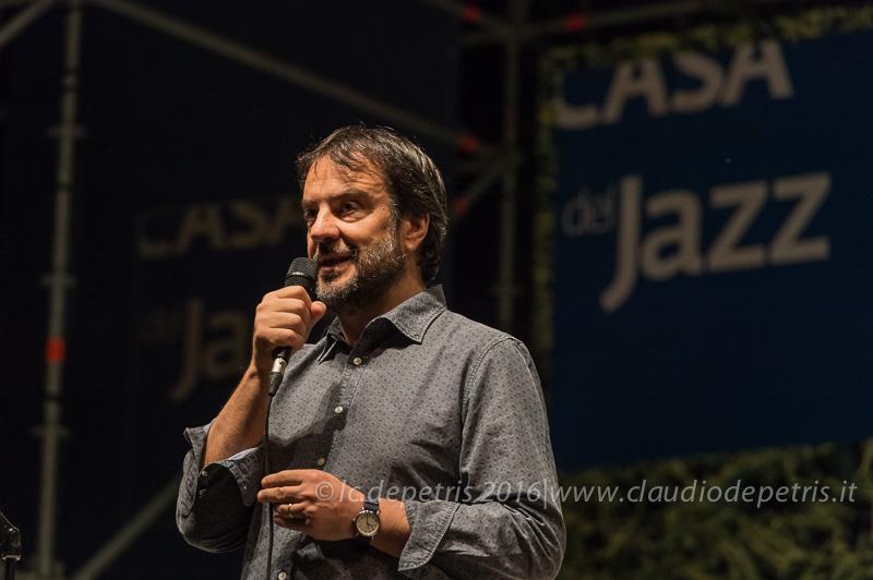 Luciano Lenzi, coordinatore Casa del Jazz