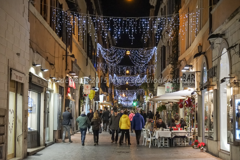 Luci natalizie 2015 a Roma, 15/12/2015