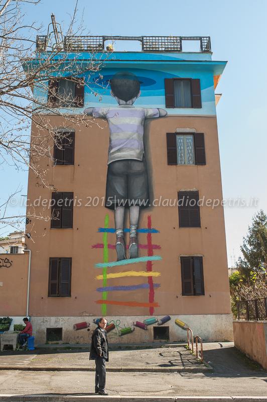 Street art a Tor Marancia 27/2/2015