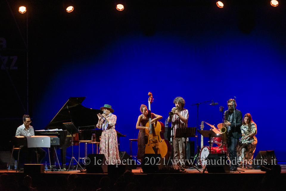 Claudio Filippini (S),Dee Dee Bridgewater, Rosa Brunello, Mirco Rubegni, Michele Polga, Evita Polidoro