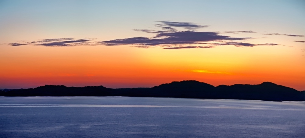 Sole di mezzanotte - Norvegia - (Midnight Sun - Norvey)