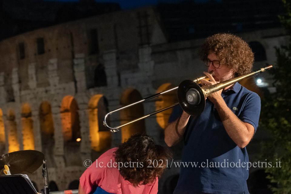 Massimo Morganti sound check