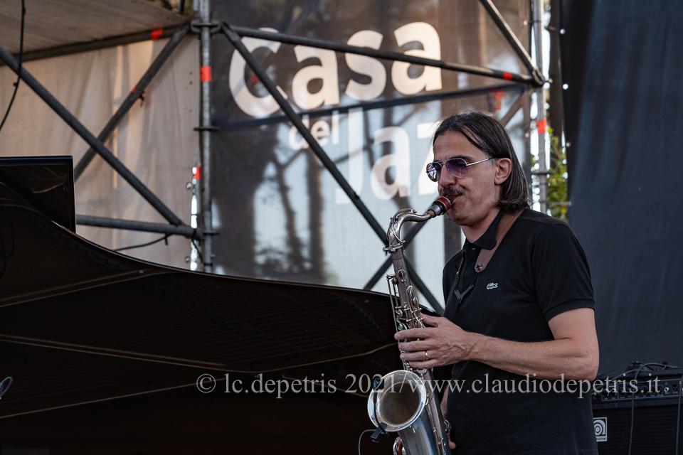 Dado Moroni-Max Ionata Duo, Casa del Jazz 7/8/2021