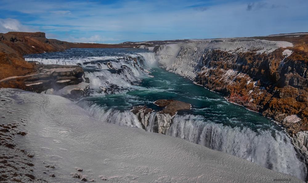 Cascata di Gulfoss - (Gulfoss waterfall) 2015