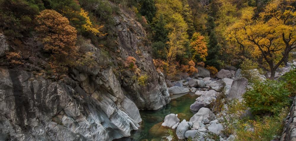 Fiume Roja, Colle di Tenda, Alpi Marittime - (River Roja, Colle di Tenda, Alpes Maritimes)