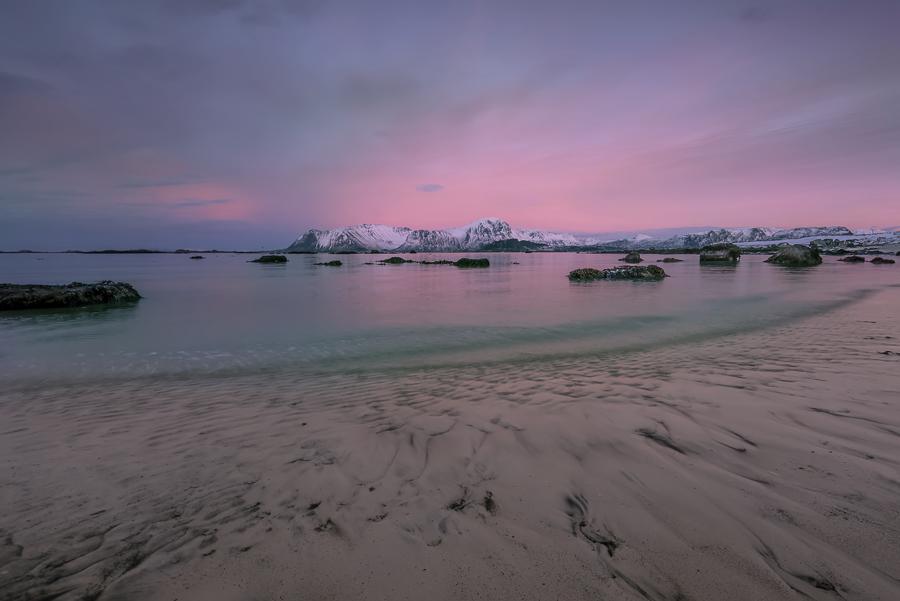 Tramonto, Ramberg, Lofoten, Norvegia - (Sunset, Ramberg, Lofoten, Norway)