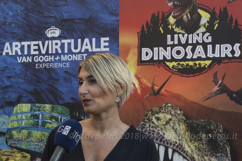 Lara Martinetto, organizzatrice della mostra