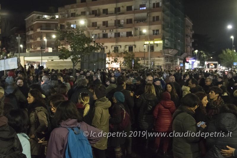 Roma 14/11/2019 manifestazione contro gli incendi