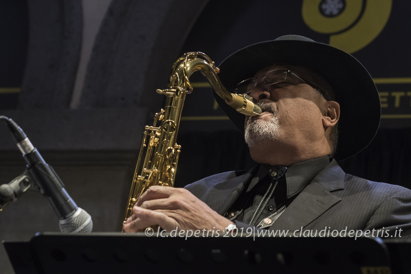 Mitch Woods Umbria Jazz Winter 2019, Orvieto Palazzo dei Sette 28/12/2019