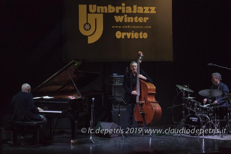 Danilo Rea piano, Massimo Moriconi contrabbasso e Alfredo Golino batteria