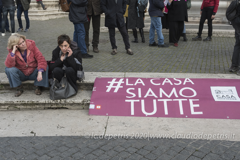 Manifestazione delle donne in Campidoglio, 18/2/2020
