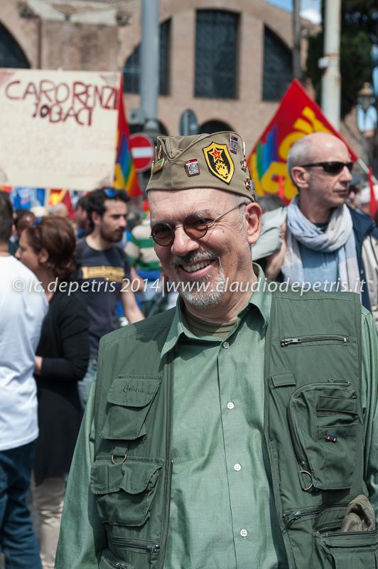 manifestazione in difesa dei beni comuni 17/5/2014