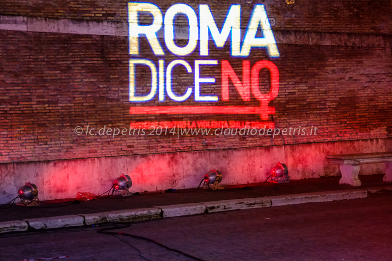 Roma dice no, manifestazione contro il femminicidio 25/11/2014
