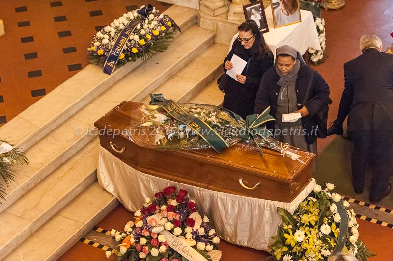 Funerale Anita Ekberg 14/1/2015