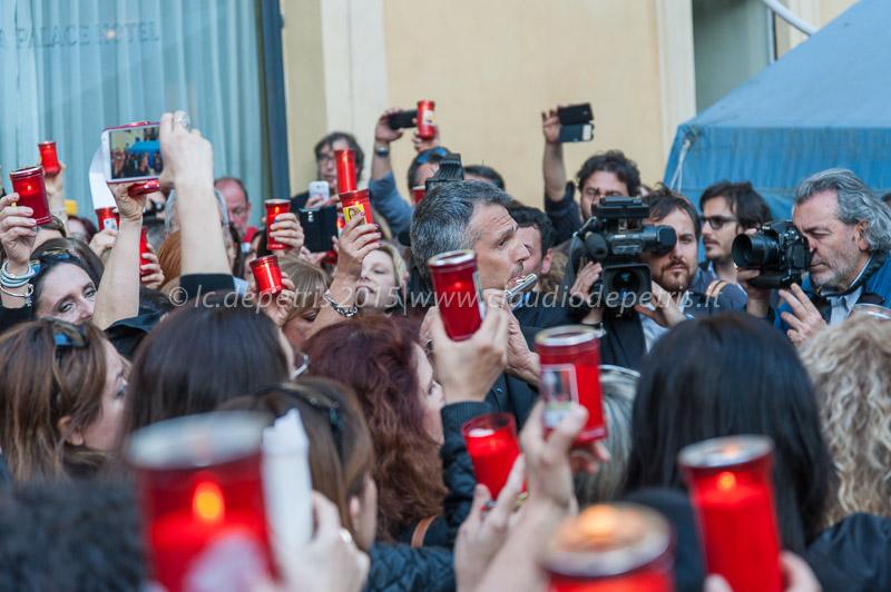 Protesta degli insegnanti contro riforma della scuola, piazza Montecitorio 4/5/2015