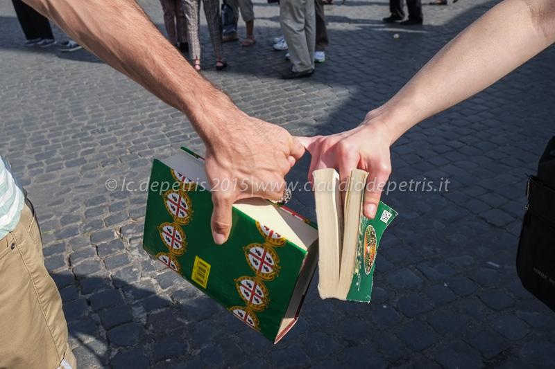 Giornata internazionale contro le omofobie, piazza del Popolo 17/5/2015