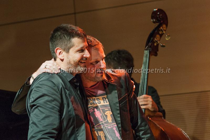 Marco Tamburini e Fabrizio Bosso
