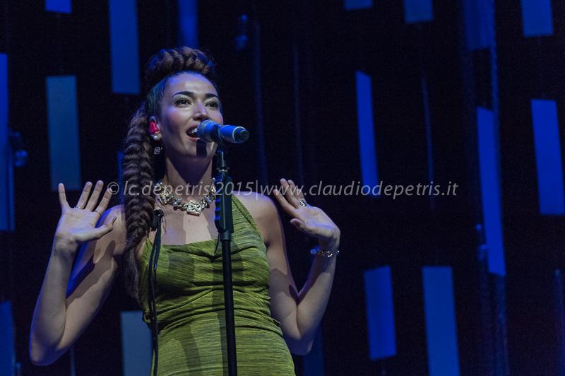 """Nina Zilli """"Frasi & Fumo tour"""" Villa Ada 6/7/2015"""