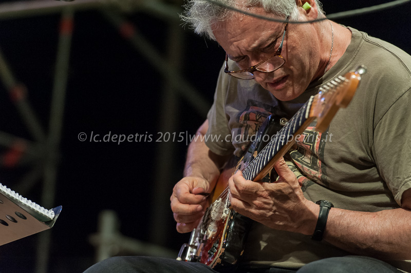 Marc Ribot Ceramic Dog Trio, Casa del Jazz 11/7/2015