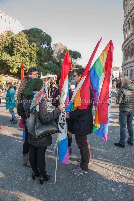 Marcia dei diritti contro i pregiudizi, Roma 12/12/2015