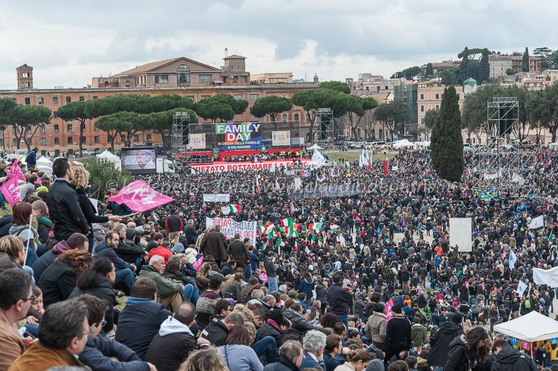 Family Day, Circo Massimo 30/1/2016
