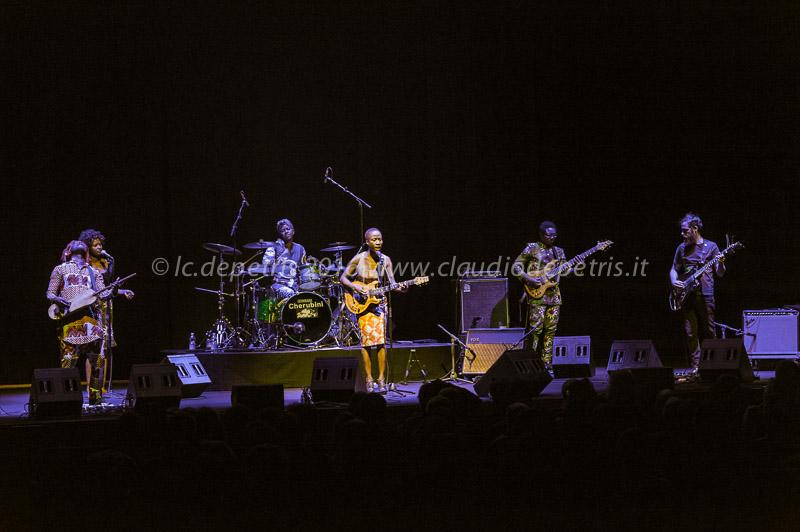 Rokia Traoré in concerto all'Auditorium Parco della Musica di Roma, 29/2/2016