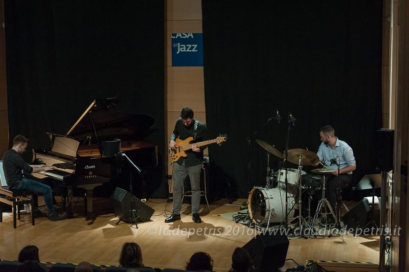 """""""Atrio"""" Gianluca Massetti (sx), Dario Giacovelli (c), Moreno Maugliani (dx)"""